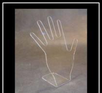 Expositor para anel mão Cristal