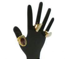 Expositor para anel Mão
