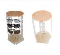 Expositor para óculos giratório