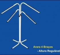 ARARA 4 BRACOS ALTURA REGULÁVEL REF. 1298