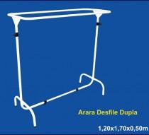 ARARA DESFILE 1,20 X 1,70 X 0,50 BRANO/PRETO REF. 1435